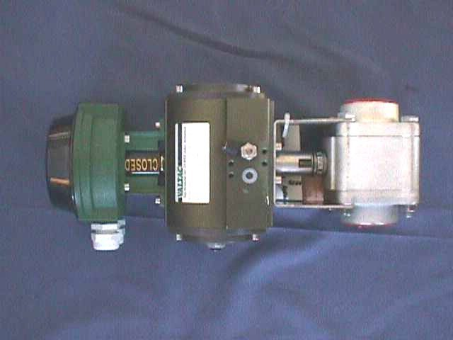 AIR ACTUATED BALL VALVE VALTAC0 INTERVAL / 1566-RRCC-DN40-FB-VSR8-NC (70345)