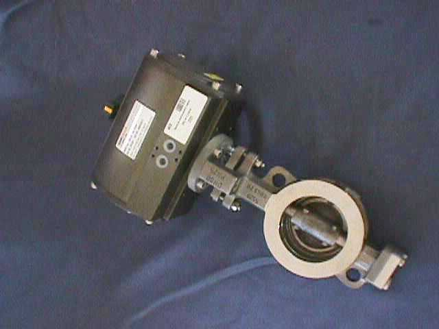 AIR ACTUATED BUTTERFLY VALVE INTERVAL VALTACO / VSR 20 DN80-PN25 (74830)
