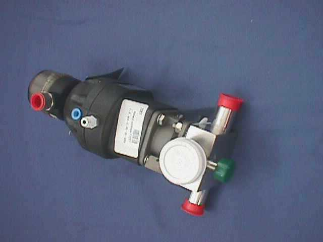 AIR ACTUATED DIAPHRAGM VALVE ITT / 1-F-419-6-R2-36-A208 (72081)