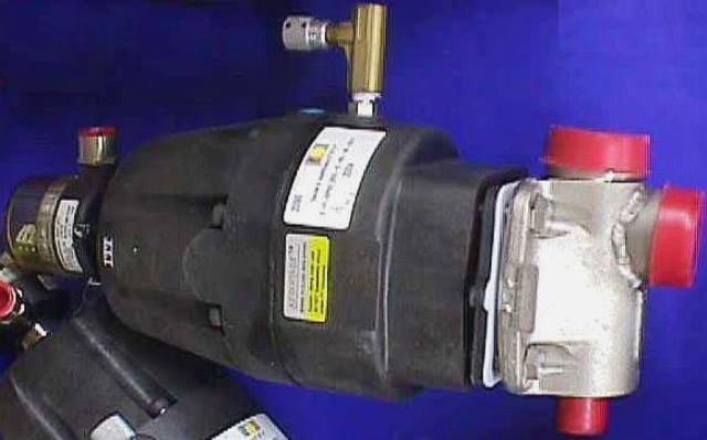 AIR ACTUATED DIAPHRAGM VALVE,Lot of 2 ITT / 2-F-SPEC SEE-2-R2-36-A217 (72096)