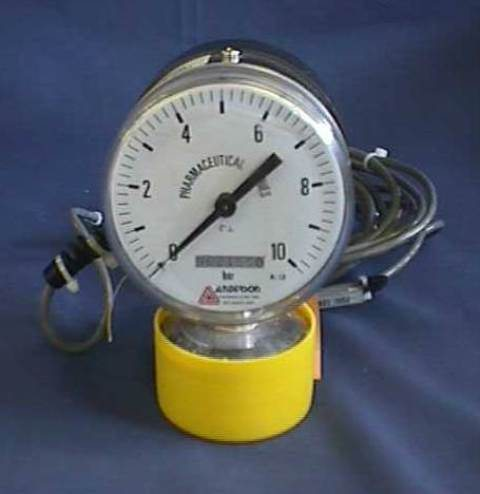 ANALOGUE MANOMETER PRESSURE SWITCH ANDERSON / IPS200 EG-0320100510404 (70583)