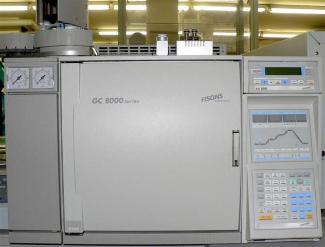 AUTOMATED GAS CHROMATOGRAPHER FISONS CARLO ERBA THERMO SCIENTIFIC / GC 8160 AS 800 (9004)
