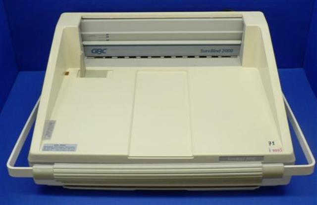 BINDING MACHINE GBC / SUREBIND 2000 (8093)