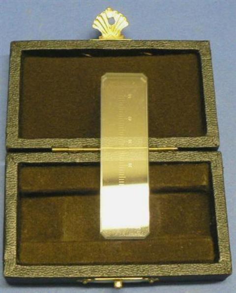 CALIBRATION GLASS RULER STANDARD ISOMA / E-50 (20143)