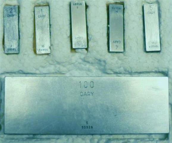 CALIBRATION WEDGE STANDARD CARY (8966)