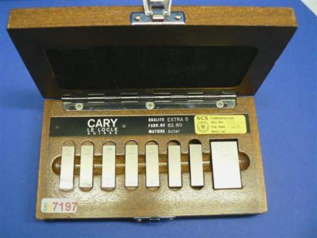 CALIBRATION WEDGE STANDARD CARY (7197)