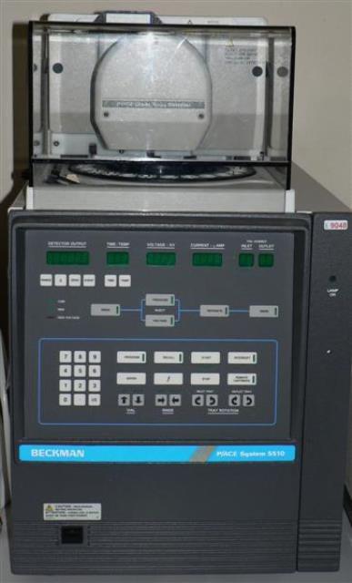 CAPILLARY ELECTROPHORESIS BECKMAN / P-ACE SYSTEM 5510 (9048)