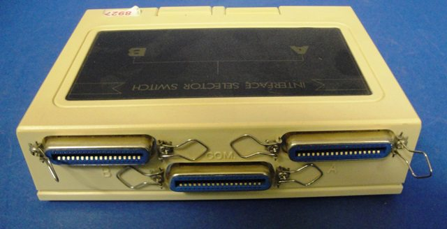CENTRONICS SWITCH BOX,Lot of 10 ROLINE (8927)