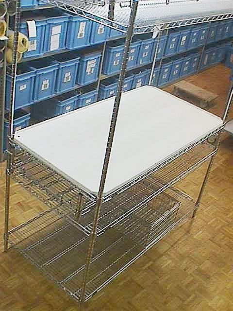 CLEAN ROOM SHELF METRO / SUPER BRECTA SHELF (20101)