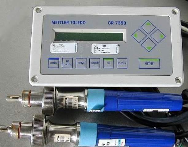 CONDUCTIVITY TRANSMITTER PROBE METTLER / CR 7350 INPRO 7100-VP (32206)