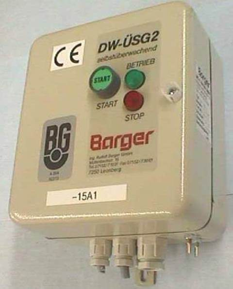 DIFFERENTIAL PRESSURE SWITCH BARGER / DW-USG2 (20019)