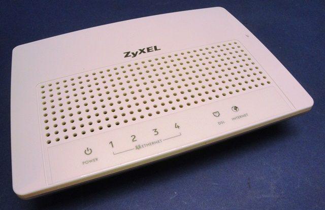 DSL MODEM ZYXEL / MODEL P-870H-53A V2 (9767)