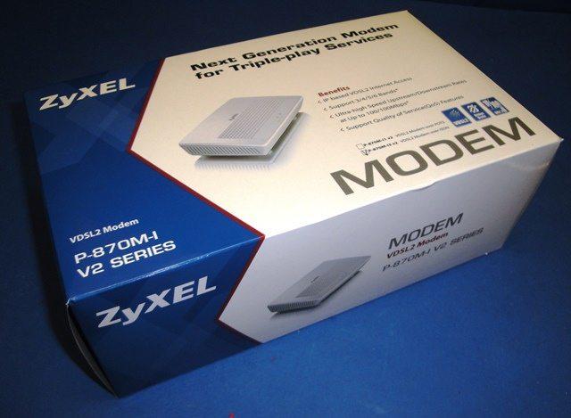 DSL MODEM ZYXEL / P-870M-I V2 (9786)