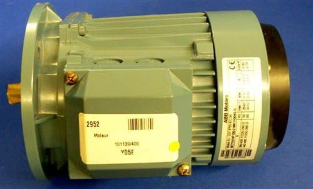 ELECTRIC MOTOR, Lot of 2 ABB MOTORS / MT71A14F130-2 MK110045-S (72952)