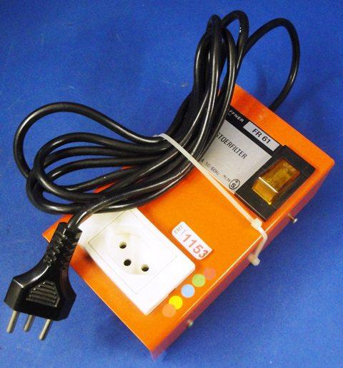 ELECTRIC NET FILTER SCHAFFNER / FR61 (1153)