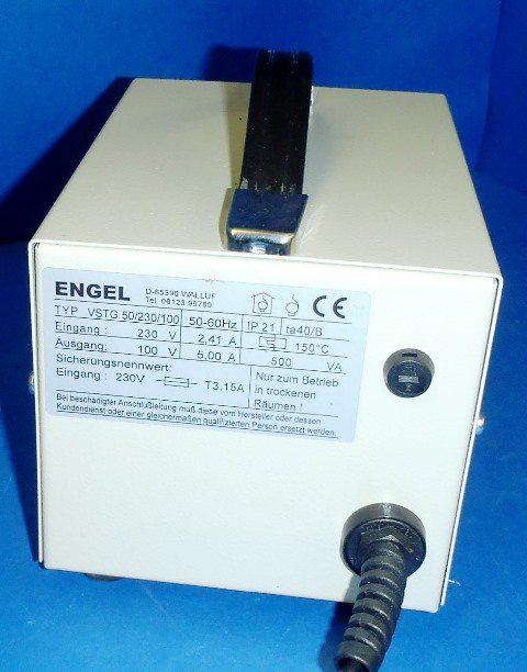 ELECTRICAL TRANSFORMER ENGEL / VSTG 50-230-110 (9095)