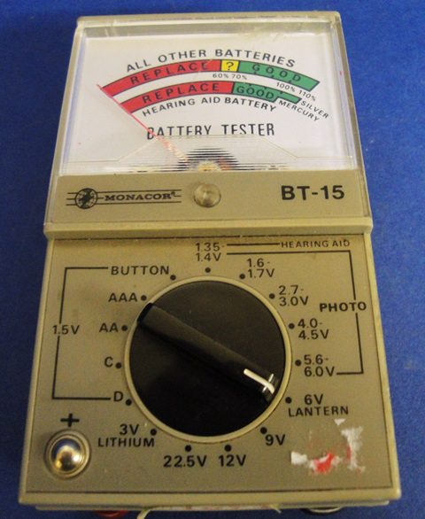 ELECTROSTATIC TESTER MONACOR / BT-15 (1071)
