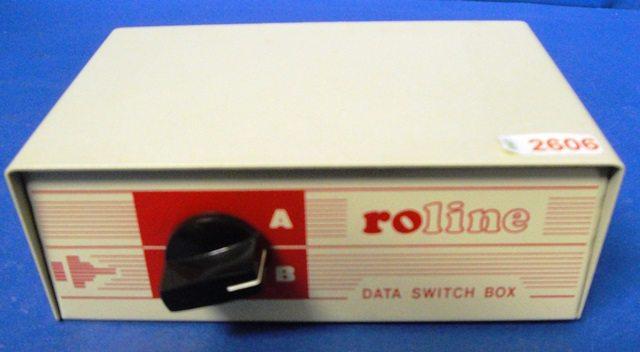 ETHERNET SWITCH BOX,Lot of 2 ROLINE (2606)