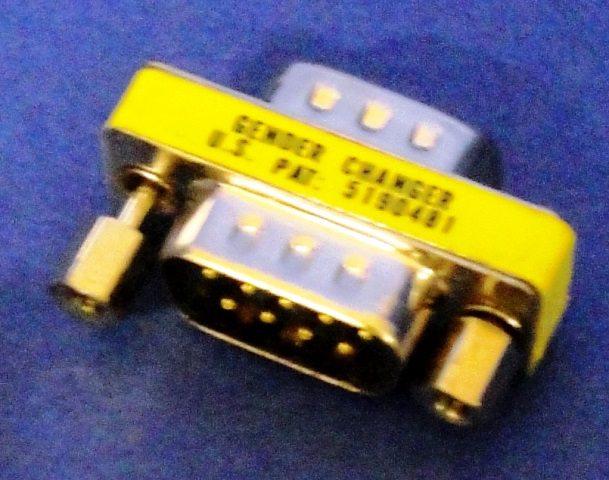 GENDER D-SUB-9 ADAPTER  (9900)