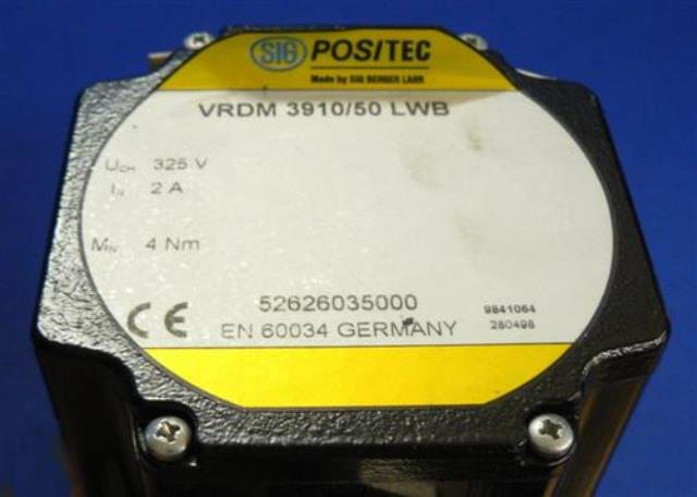 LABELLING MACHINE MOTOR VRDM / 39-1 LWB 2-0A 52626035000 (73848)