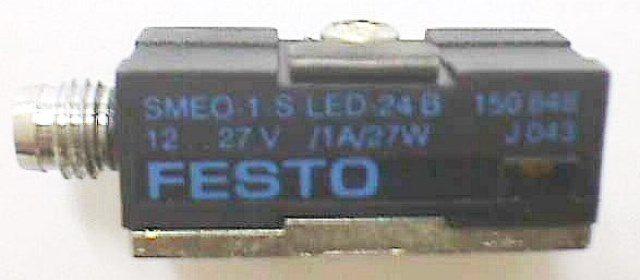 MAGNETIC PROXIMITY SENSOR,Lot of 4 FESTO / 150853 SME-3-SL-LED-24B (73918)