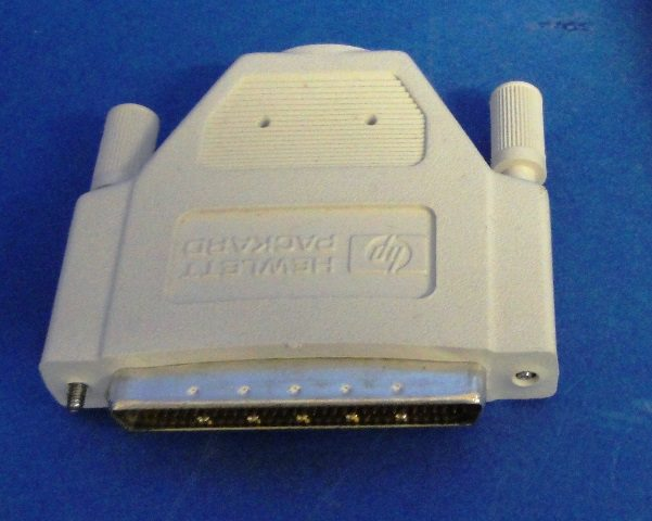 MALE SCSI II TERMINATOR,Lot of 4 AMP (9897)
