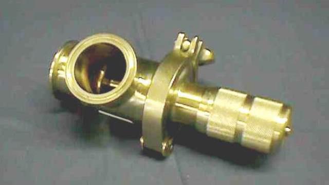 MANUAL MICROMETER VALVE,Lot of 2 ALFA LAVAL  / TRI FLO  171-10M-90-2-316L-E (70294)