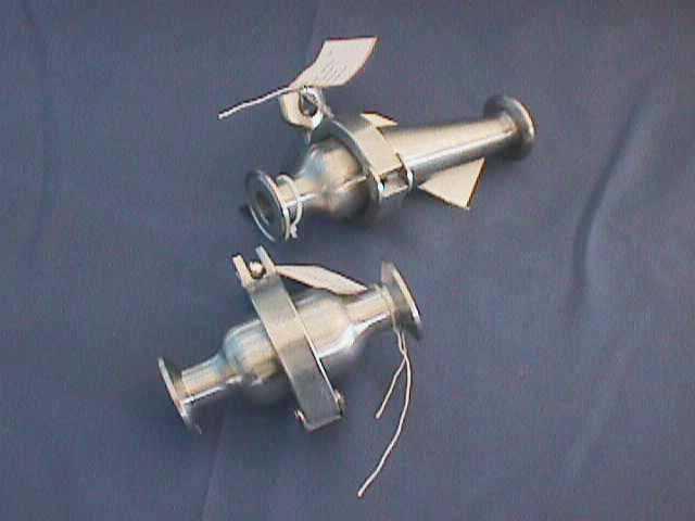 NON-RETURN CHECK VALVE,Lot of 5 ALFA LAVAL / B45HMP-1-316L-SFY-ECC- (70436)