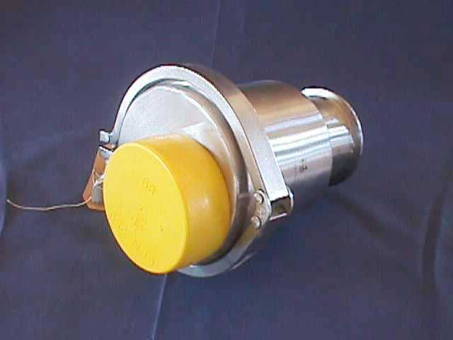 NON-RETURN CHECK VALVE, Lot of 2 ALFA LAVAL / B45HMP-3-316L-SFY-ECC- (70446)