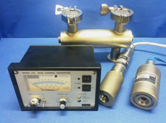 OPTICAL INLINE PROBE SYSTEM OPTEK-DANULAT / MODEL 316   AF26-EX N10 (74778)