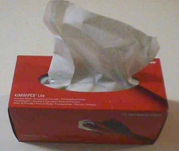 OPTICS CLEANING TOWELS,Lot of 12 KIMBERLY-CLARK (20100)