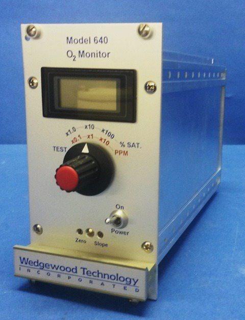 OXYGEN MONITOR TRANSMITTER WEDGEWOOD TECHNOLOGY / 640-O2 (70263)