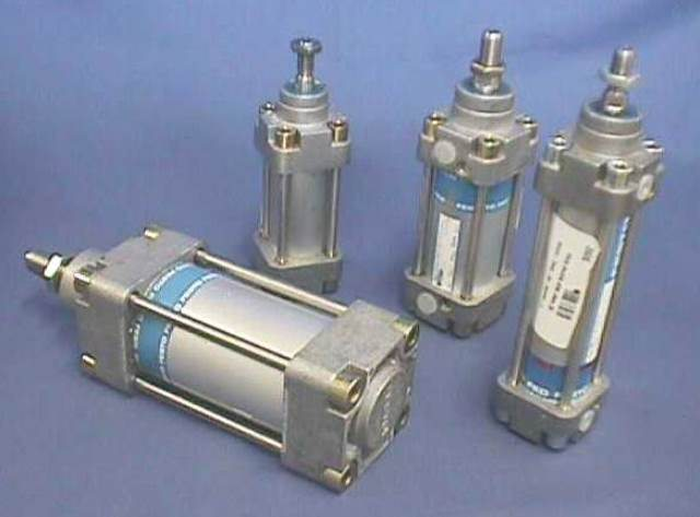 PNEUMATIC LINEAR ACTUATOR, Lot of 2 FESTO / 34973 DNG-32--PPV-A-S3 (74668)