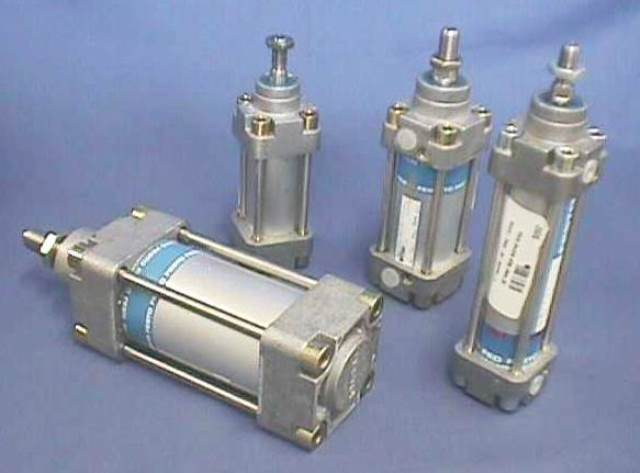 PNEUMATIC LINEAR ACTUATOR, Lot of 2 FESTO / 34974 DNG-40--PPV-A-S3 (74671)