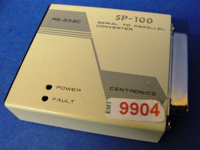 RS232 CENTRONICS CONVERTER CENTRONICSS / SP100 (9904)