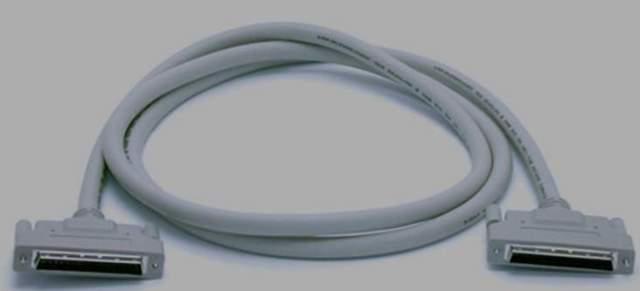 SCSI III MALE MALE CABLE,Lot of 3 C-M (9889)