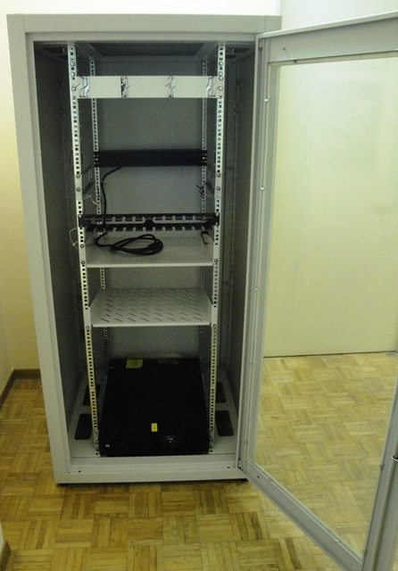 SECURED IT CABINET  (9755)