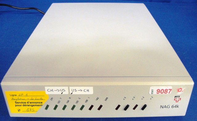 SECURISED ISDN MODEN NAG / 64k (9087)