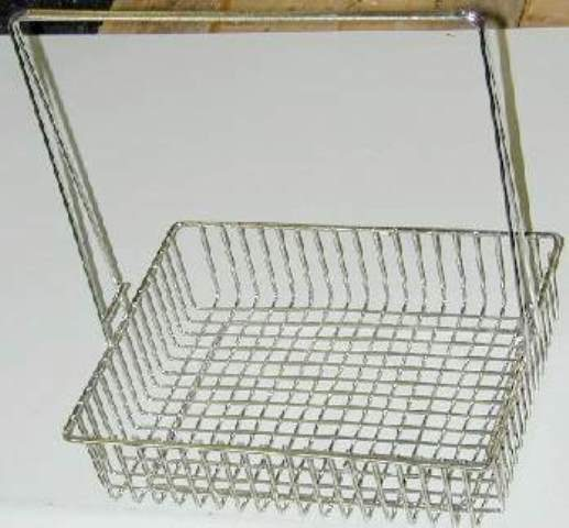 STAINLESS STEEL BASKET, Lot of 6  (32408)