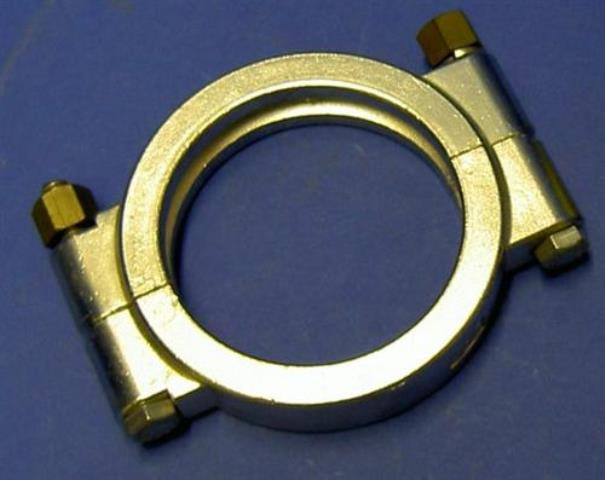 STAINLESS STEEL CLAMP,Lot of 5 TRICLOVER / 13 MHP 304 3 (73502)