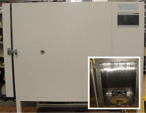 TEMPERATURE TEST CHAMBER WEISS / WELO 100-300 S (9203)