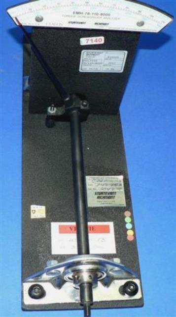 TORQUE ANALYSER STURTEVANT / RICHMONT USA EMH 78-110-800D (7140)