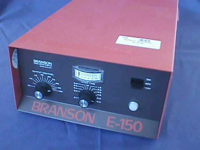 ULTRASOUND WELDER POWER SUPPLY BRANSON ULTRASONIC EMERSON / E-150-C (73593)