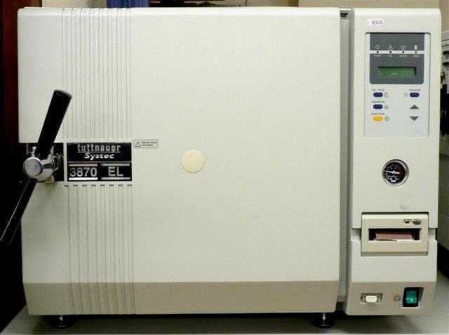 AUTOCLAVE HORIZONTAL AUTOMATIQUE TUTTNAUER-SYSTEC / 3870 EL (9005)