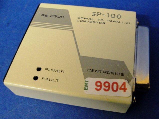 CONVERTISSEUR RS232 CENTRONICS CENTRONICSS / SP100 (9904)