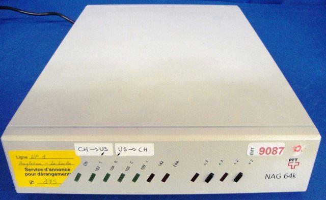 MODEM ADAPTER V35 ISDN SECURISE NAG / 64k (9087)