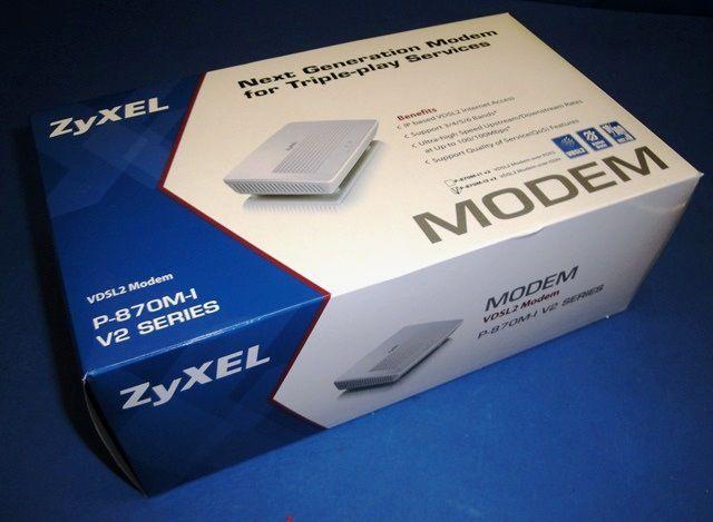 MODEM DSL ZYXEL / P-870M-I V2 (9786)