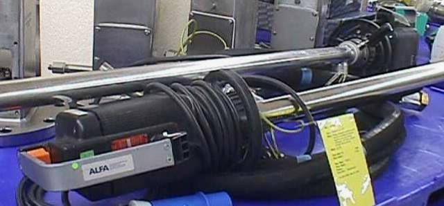 POMPE VIDE FUT AXFLOW LUTZ / ME II 3-230 EX DE II BT 4 (736)