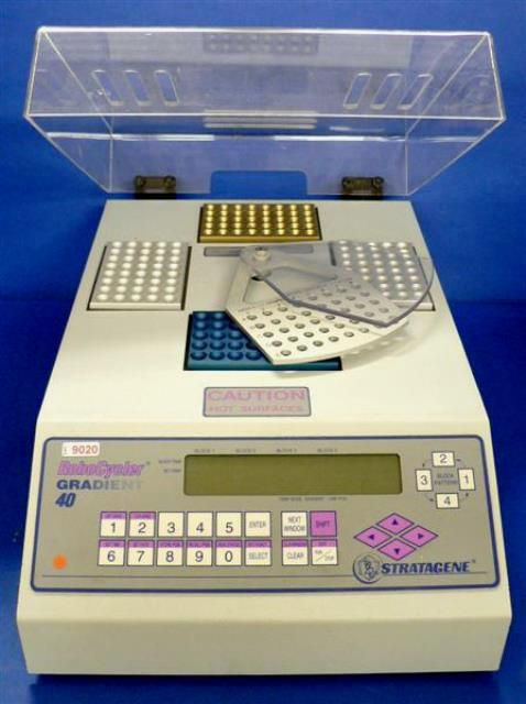 THERMOCYCLEUR PCR STRATAGENE / ROBOCYCLER GRADIENT 40 (9020)